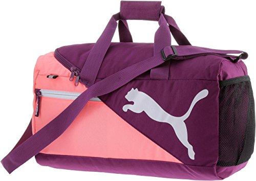 PUMA Fundamentals Sports Bag S Sporttasche, Dark Purple, 48 x 24 x 3 cm