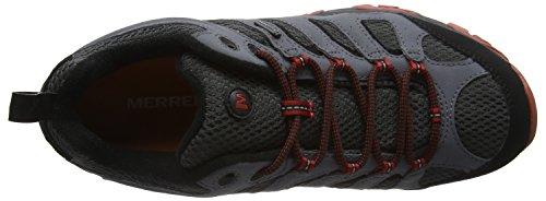 Merrell - Moab GTX - Chaussure de randonnée - Montante - Homme Multicolore (Castle Rock/Black)