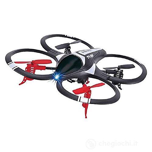 ELICUTE Novidea Drone Quadricottero Mini GS Rotazione a 360° con alloggio Fotocamera 14+