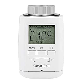 Eurotronic CometDECT Heizkörperthermostat für AVM -- Weiß