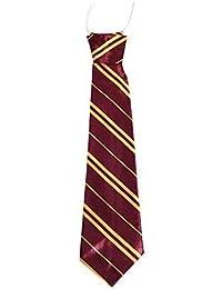 Corbata para niños de raso elástica para el cuello - (de mochilas escolares con/diseño de vestido de fiesta/para boda) disponible en una gran variedad de colores
