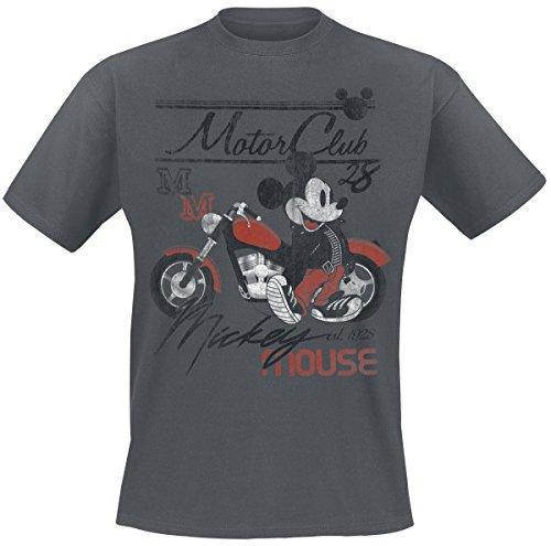 P/n Motor (Micky & Minni Maus Motor Club T-Shirt Grau XXL)