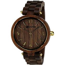 Holz Armbanduhr Venezia Nut