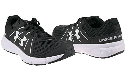Under Armour Ua Dash Rn 2, Scarpe Running Uomo Black/White/White