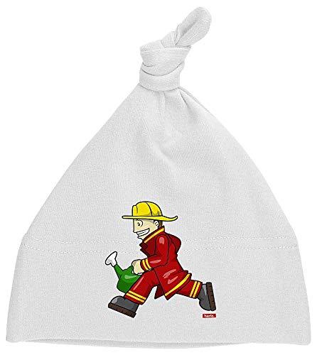 oten Feuerwehrmann Kanne Rennen Beruf Feuerwehr Plus Geschenkkarte Milchzahn Weiß ()