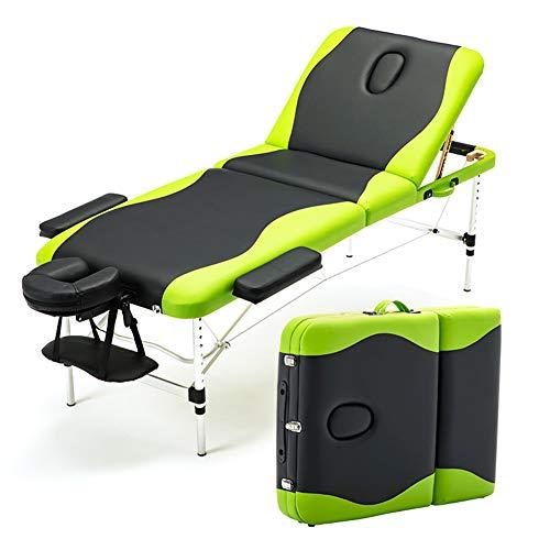 Camilla de masaje plegable. Transportable en maletín.
