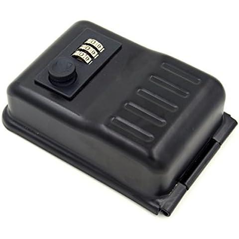 Captelec sst2-1 - Caja fuerte de seguridad para llaves, acero robusto en interior y exterior