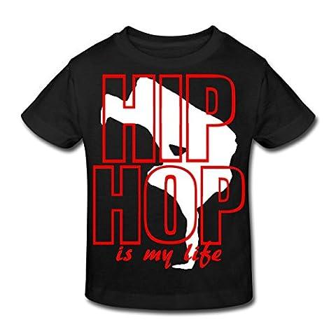 Le hip hop c'est ma vie T-shirt Bio Enfant de