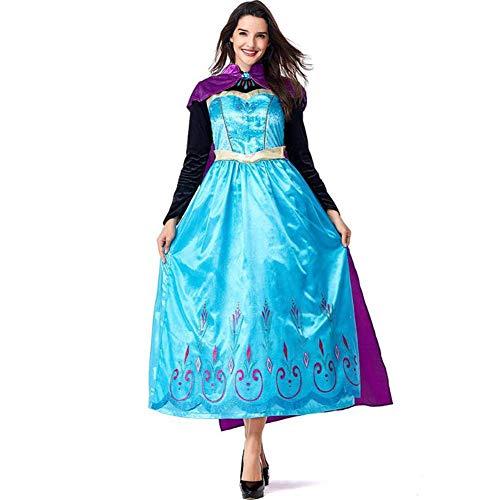 Snow Queen Halloween - ASDF Prinzessin Cosplay Kostüm Halloween Bühnenkostüm