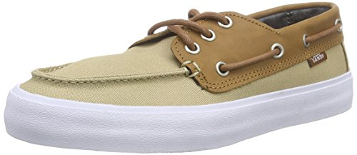 Vans Chauffeur SF, Baskets Basses Homme Beige (C&L/Khaki/Chambray)