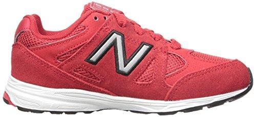 New Balance KJ888V1 Infant Running Shoe (Infant/Toddler) Red/black