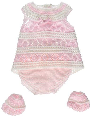 Paola Reina Paola reina55178Vestido con Zapatos para 45cm bebita Europea de Punto Rosa/Raw muñeca