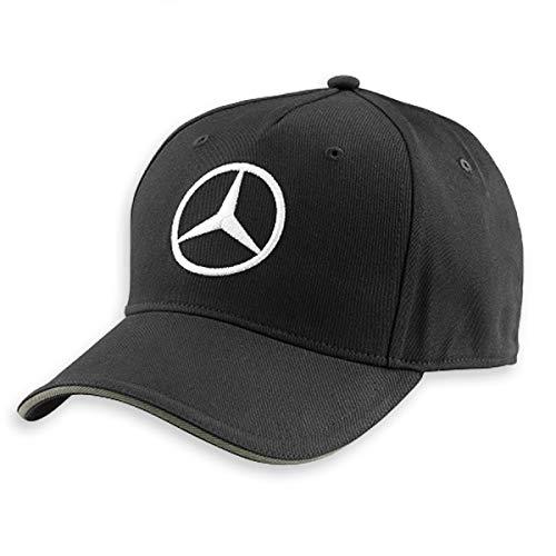 Berretto Mercedes (Motorsport Racing Wear), Nero