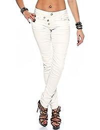 Cipo & Baxx Damen Jeans WD-210 Skinny