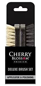 Pearls Drycleaners Ltd - Set di 2 spazzole Cherry Blossom Deluxe