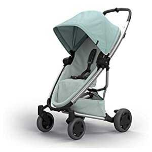 Quinny Zapp Flex Plus Urban Pushchair, Flexible and Compact, Two-Way Reclining Seat, 6 Months to 3.5 Years, Frost on Grey   4