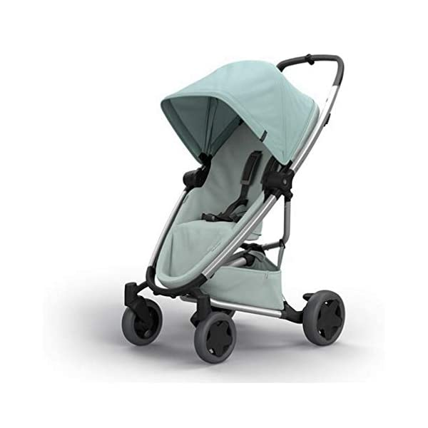 Quinny Zapp Flex Plus Urban Pushchair, Flexible and Compact, Two-Way Reclining Seat, 6 Months to 3.5 Years, Frost on Grey Quinny Can be used from birth when combined with quinny from-birth cocoon or a maxi-cosi baby car seat (sold separately) This flexible pushchair features a two-way seat that fully reclines in both directions Four large wheels of quinny zapp flex plus offer a highly manoeuvrable, smooth ride 1