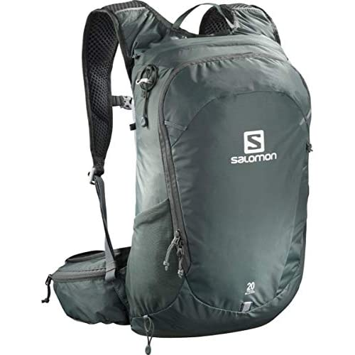 418VfAvaAWL. SS500  - Salomon Lightweight Hiking and Cycling Backpack, 20 Litre, Trailblazer 20, Urban Chic, LC1084900