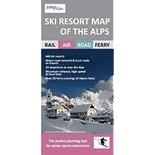 Ski Resort Map of the Alps (2thealps)