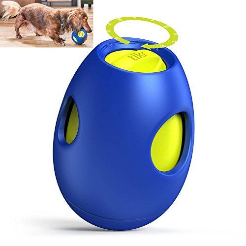 ZhongZe Dispensador de Comida para Perro, Pelota para Mascotas, Bola de Comida para Mascotas, Juguete dispensador de Aperitivos, dispensador de Dulces para Mascotas