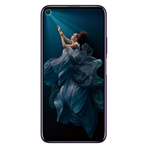 HONOR 20 Pro Dual SIM Smartphone, 6.26 Inch Display, 48 MP AI Quad Camera with Dual OIS, 8GB RAM + 256GB storage, Side Fingerprint, Phantom Black, UK Official Version Best Price and Cheapest