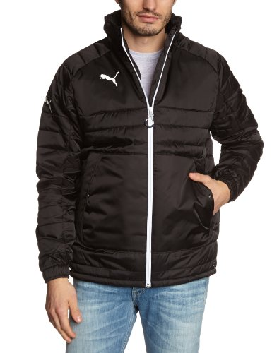 PUMA Herren Jacke Stadium Jacket Black/White, L -