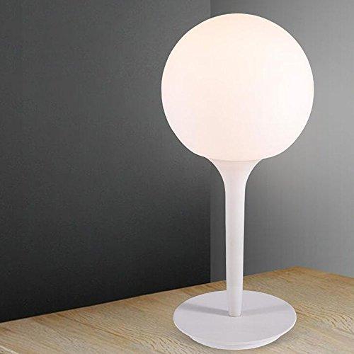 Desk Glas Für Top (Einfache kreative Größen Wohnzimmer Studie Schlafzimmer Nachttischlampe Glaskugel Tischlampe Persönlichkeit Design [Effizienzklasse : A +] ( größe : 42cm ))