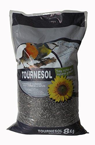 Agrobiothers Nourriture Tournesol Oiseaux Du Ciel 8 Kg