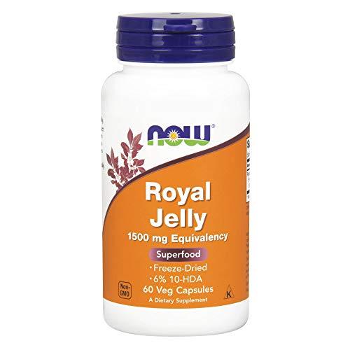Now Foods I Royal Jelly I 6% 10-HDA I 60 vegane Kapseln