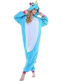 Pyjama Licorne Pyjama Licorne Adulte Kigurumi Combinaison Animaux Unicorn