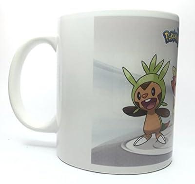 Taza Pokemon + chapa de HobbyElx