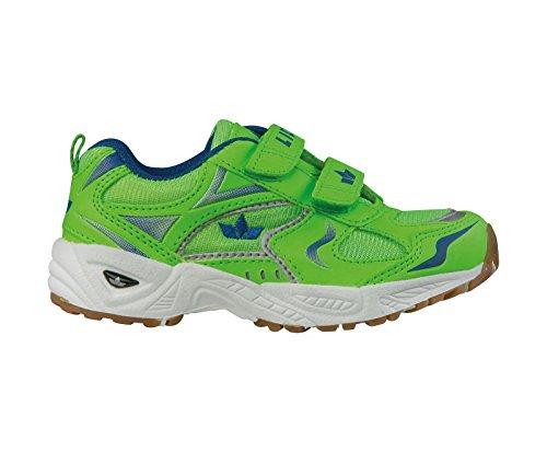 Geka Bob V, Chaussures Multisport Indoor Mixte Enfant, Vert/Bleu
