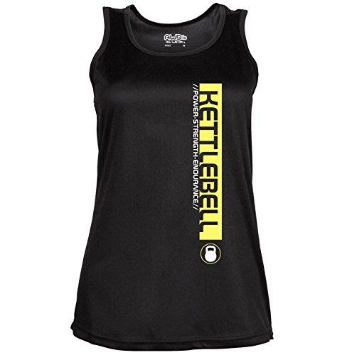 Poids Kettlebell Femme Pro Kettlebell dos nageur pour femme. Couleur 2options. Taille 4options. Noir