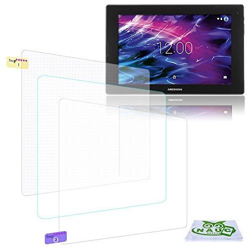 Display-Schutz-Folie Medion Lifetab P10326 Schutzfolie 3x klar Universal NAUC