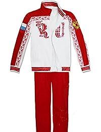 Cosplay Kostüm Kapuze Jacke Sweatshirt mit Hose Anime Sport Outfit Kleidung für Erwachsene Verrückte Kleid Merchandise