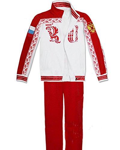 Cosplay Kostüm Kapuze Jacke Sweatshirt mit Hose Anime Sport Outfit Kleidung für Erwachsene Verrückte Kleid (Kostüme Leisure Suit)