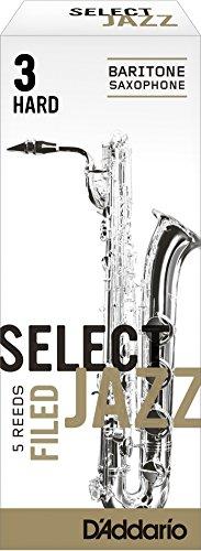 Select Jazz filed Blätter für Baritonsaxophon Stärke 3 Hard (5 Stück)