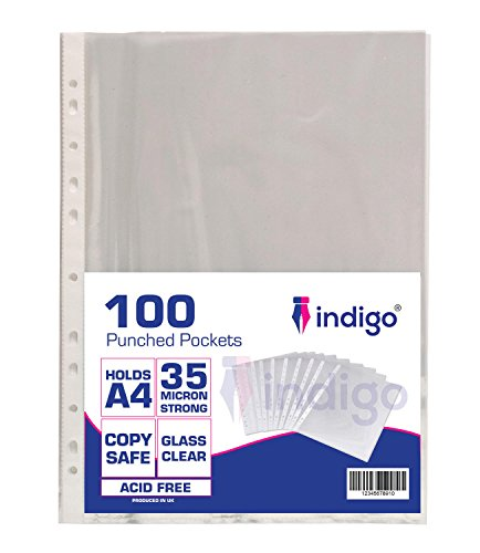 indigo-100-a4-transparent-poly-punched-pockets-sleeves-wallets