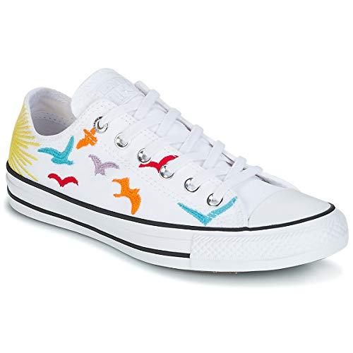 Converse Chuck Taylor All Star X Mara Hoffman Damen Sneaker Weiß, Size:39 EU Converse Chuck Taylor Print Sneaker