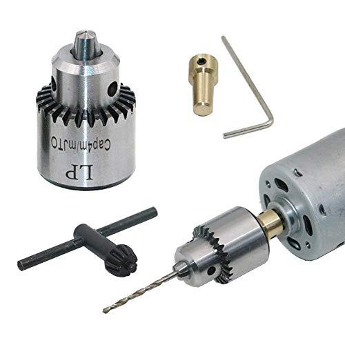 Mini perceuse électrique Mandrin 0.3-4mm, à la main manuel...