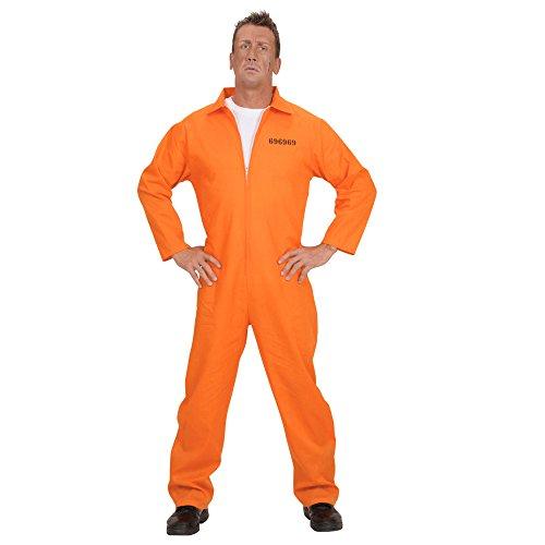 Widmann 58423 Erwachsenenkostüm Häftling, (Häftling Kostüm Overall)