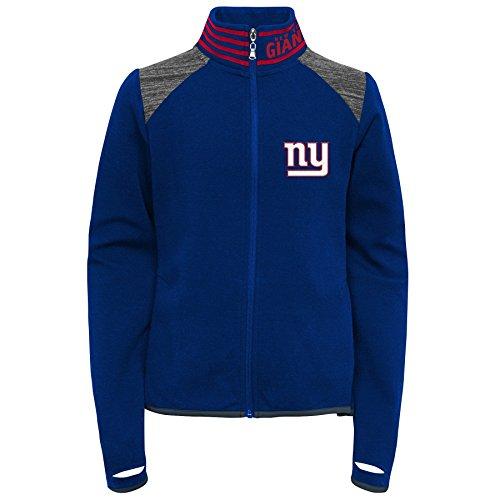Outerstuff NFL New York Giants Jungen Youth Aviator Full Zip Jacket, Mädchen, 9K1G6FAA3 NYG -GXL16, Dark Royal, Jugendliche XL (Giants-mädchen York New)