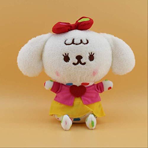 AMTSKR Kätzchen Und Hase Paar Kostüm Puppe, 25cm Süße Kleine Tier Plus Cartoon Puppe - Kuscheliges Kätzchen Kostüm