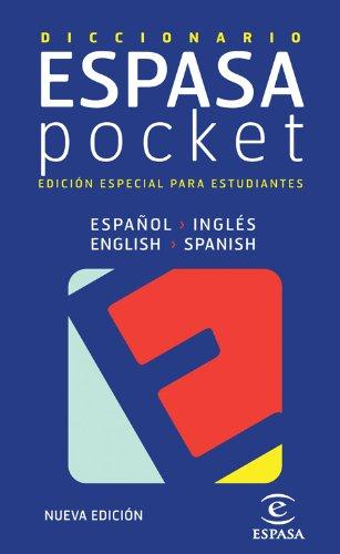 Diccionario pocket inglés- español / español - inglés (IDIOMAS) por Espasa Calpe