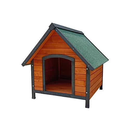 Gardiun KNH1210 - Caseta de perro de madera Sweet a 2 aguas, 72 x 76 x 76 cm
