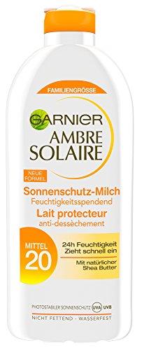 Garnier Ambre Solaire Delial SPF 20, 3-pack (3 x 400 ml)