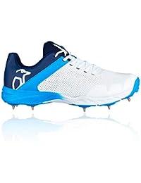 7820e13feec Kookaburra 2019 KC 2.0 Kids Junior Cricket Shoe Spike White Blue