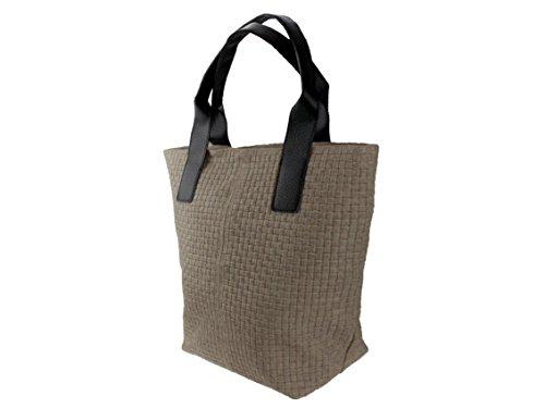 bag2basics, Borsa a spalla donna Marrone (Cappuccino)