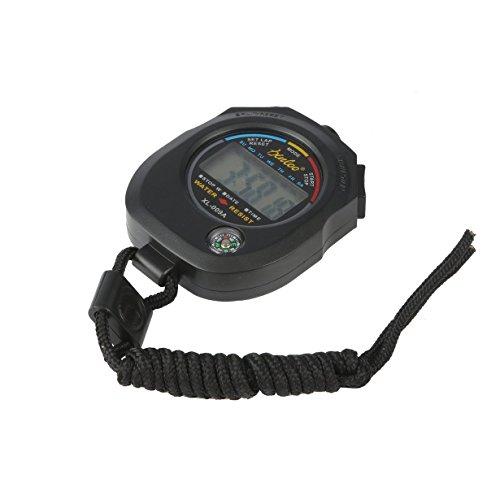 UniqueHeart Tragbare ABS Zeitzähler Digital LCD Sports Stoppuhr Professionelle Wasserdichte Sport Chronograph Durable Timer