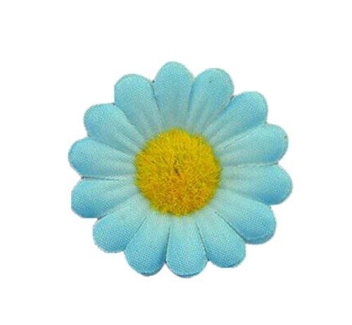 4 morceaux de bijoux faits à la main mignonne Bague tourneso bleu clair réglable